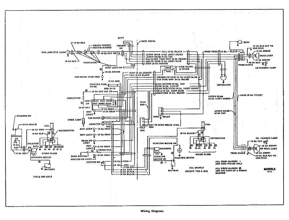 1954 Ford Wiring Diagram On Diagramrh515ausbildungsparkassemainfrankende: Ford F100 Pick Up Wiring Diagrams At Gmaili.net